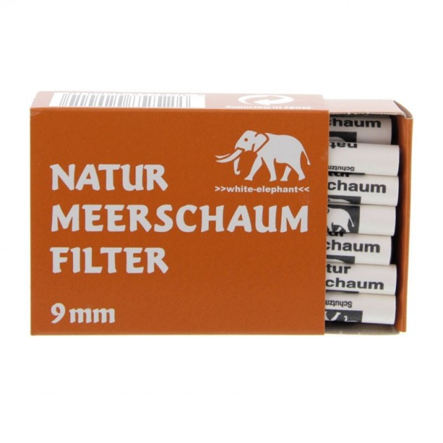 White Elephant Pfeifenfilter Meerschaum 40St.