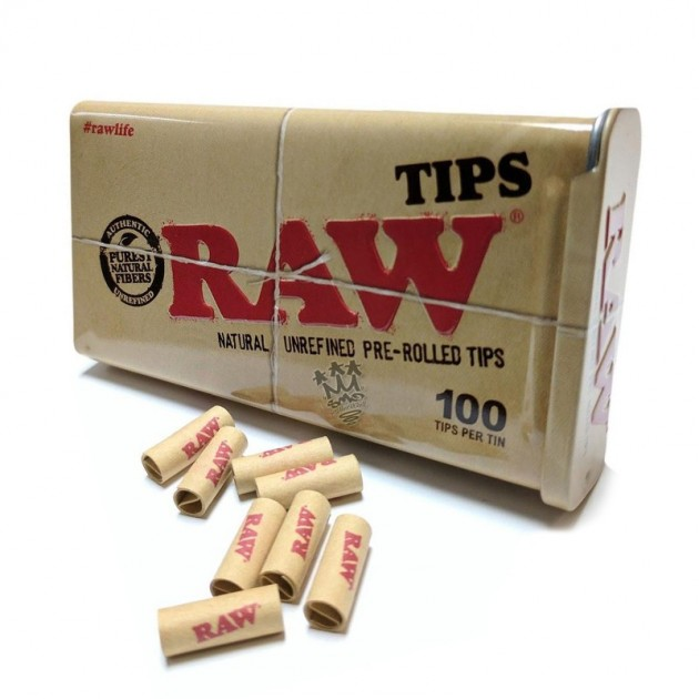 RAW-Pre Rolled Tips
