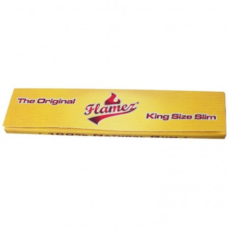 Flamez Yellow Slim King Size Papers