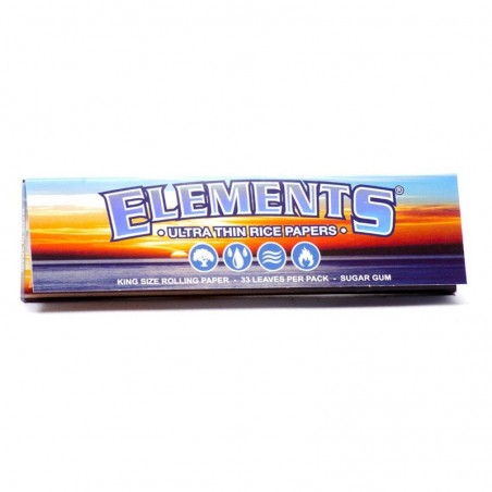 Elements Kingsize Slim Rice Papers