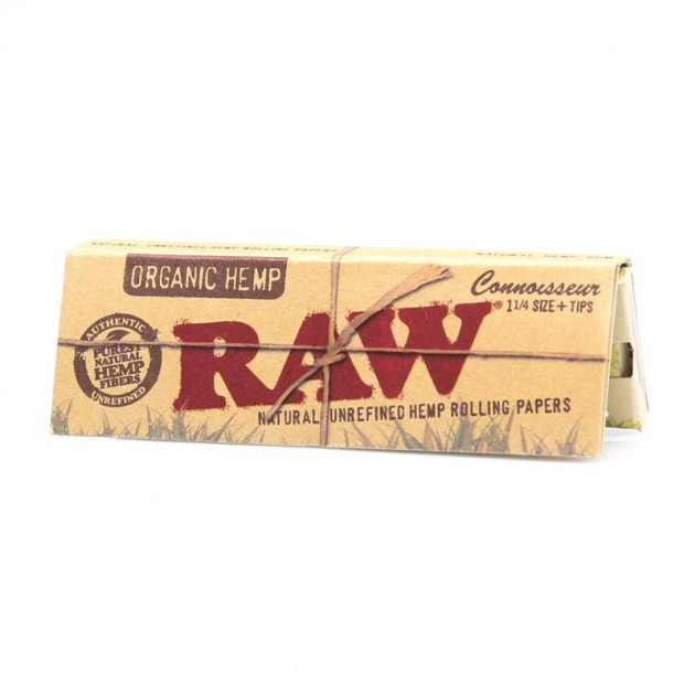 RAW Organic Connoisseur Papers & Tips
