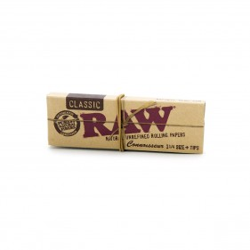 RAW-1 1/4-Connoisseur+Tips