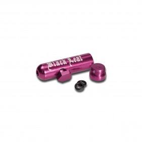 Dosierer 'Black Leaf' pink