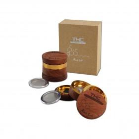 THC Alu-/Holzgrinder 4-TLG.