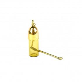Gelbe Vorratsflasche 4,8cm...