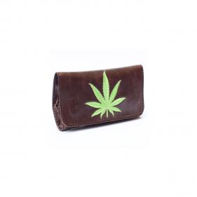Tabakbeutel Leaf