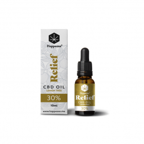 Relief 30% CBD Oil Lemon...