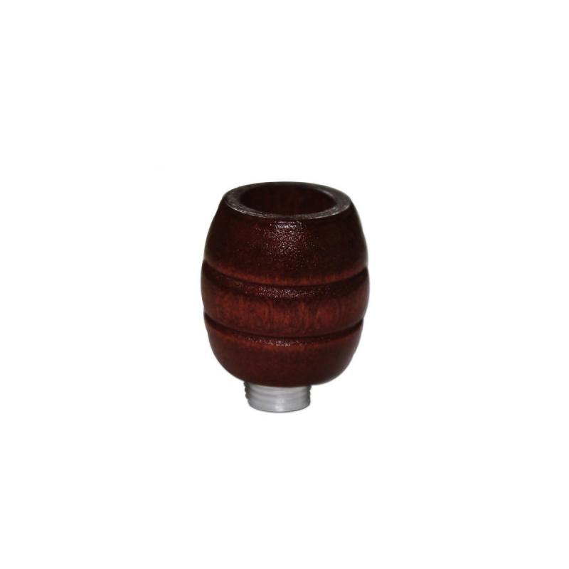 Holzkopf für Metallchillums / Pfeifen geschnitzt von Black Leaf Seitenansicht