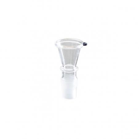 Glas Steckkopf Trichter breit