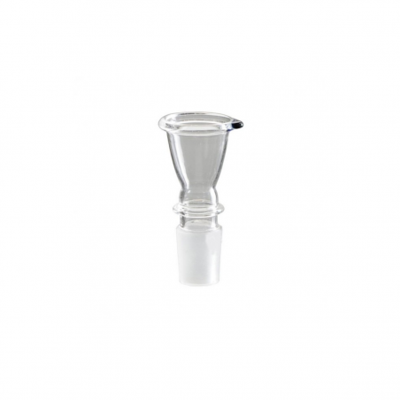 Glas Steckkopf Glocke