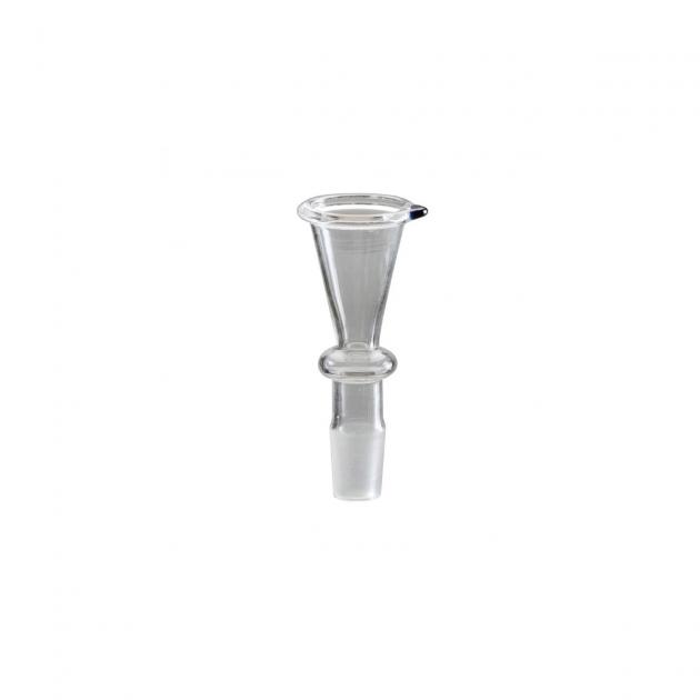 Glas Steckkopf Trichter