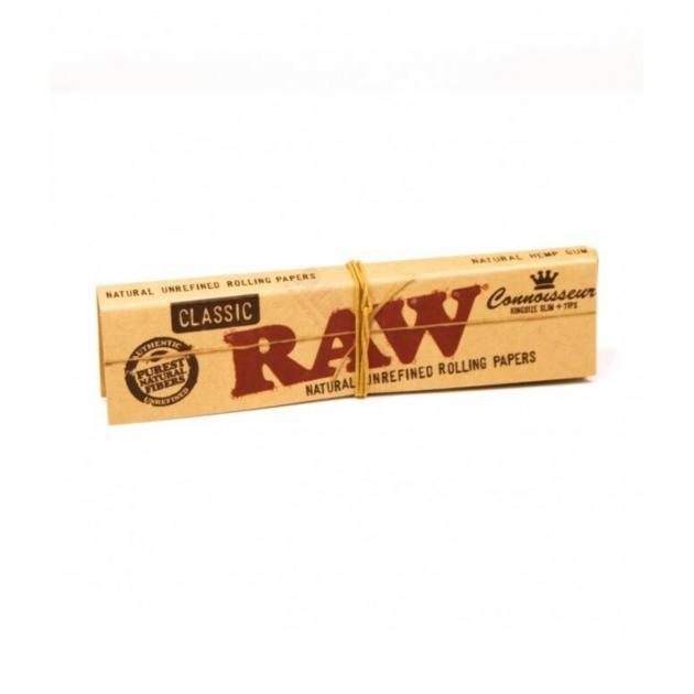 RAW Connoisseur KS Classic+Tips