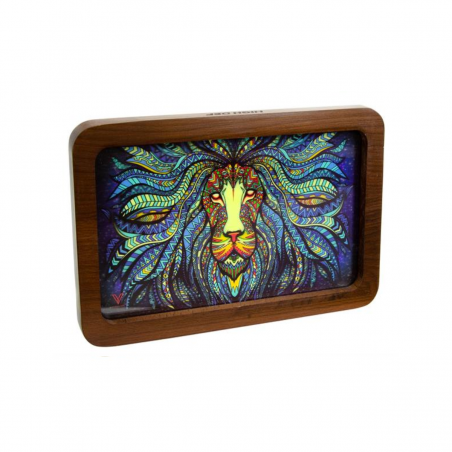 Tribal Lion V-Syndicate Holz 3D MEDIUM