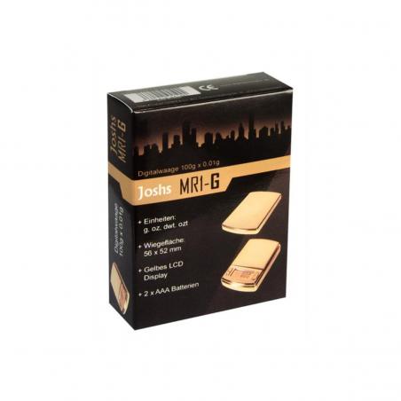 Dipse Joshs MR1-G 100g Digitalwaage (0,01g) gold