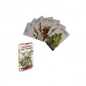 Cannabis Quartett Kartenspiel