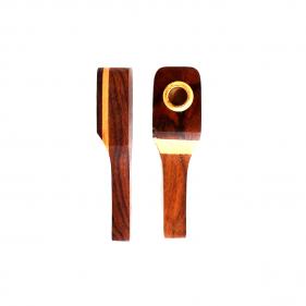 Holzpfeife Zweifarbig
