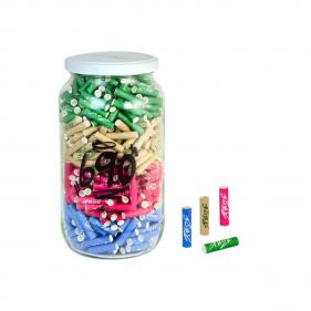 """Aktivkohlefilter Slim Size von """"Purize"""" 690 im Glas Vorderansicht"""