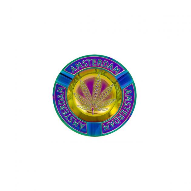 Amsterdam Leaf Rainbow Aschenbecher
