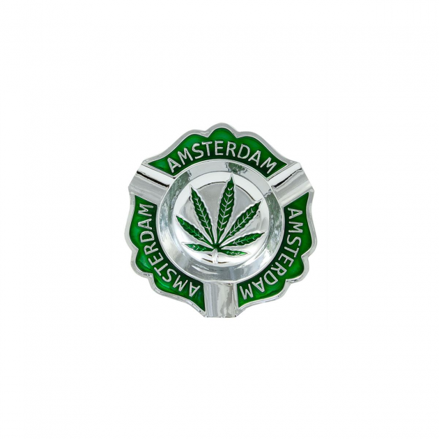 Amsterdam Leaf Embossed Aschenbecher