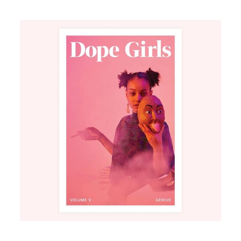 """Hanfkultur Magazine """"Dope Girls"""" Ausgabe 5 Titelbild Vorderseite"""