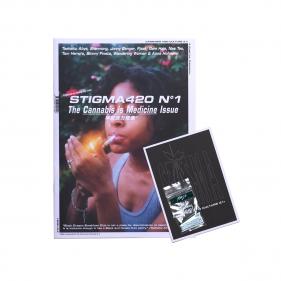 """Hanfkultur Magazine """"Stigma"""" Ausgabe 1 Titelbild Vorderseite"""
