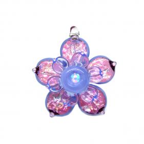 Anhänger Flowerspinner Opal