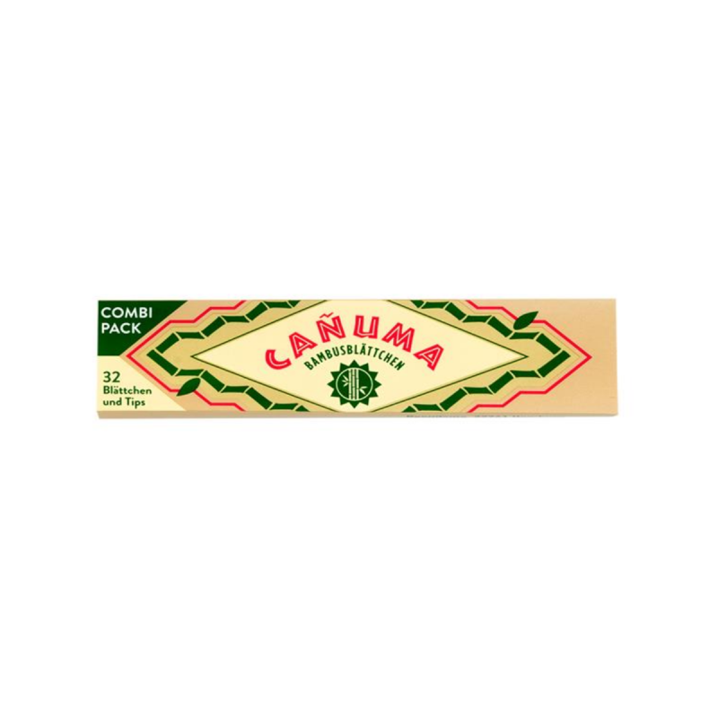 "Zigarettenpapier aus Bambus ""Cañuma"" Vorderseite"