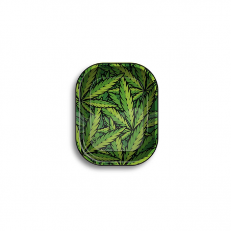 Micro Leaves Rolling Tray Metall