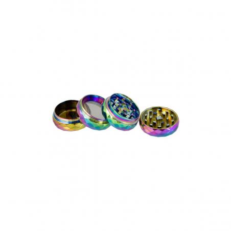 Bear Crystal Rainbow Grinder