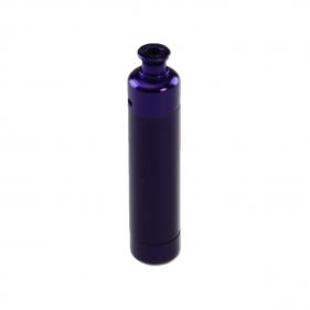 Aubergine Metall Pfeife Bud Bomb mit Labyrinthe Seitenansicht
