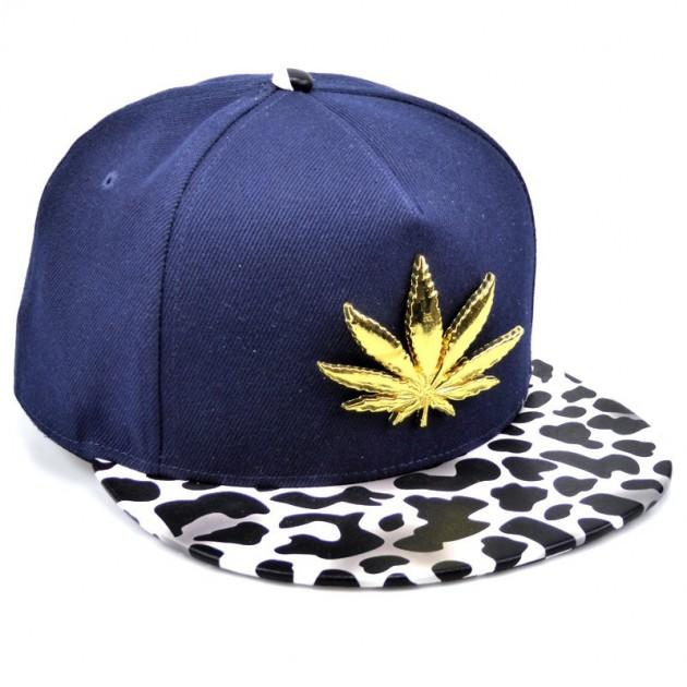 Schirmmütze Weed Basecap Hip Hop
