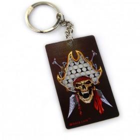 Kartengrinder Schlüsselring